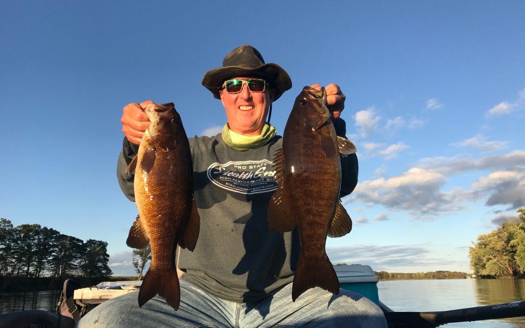 September 27, 2017 River Smallie Adventures Wisconsin Fishing Report