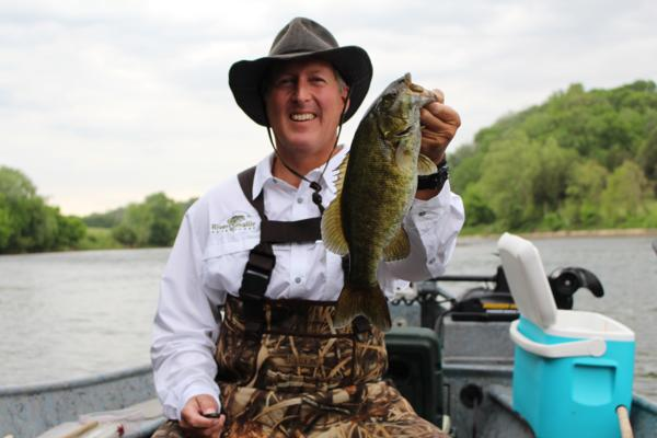 Smallmouth and White Bass On The Holston