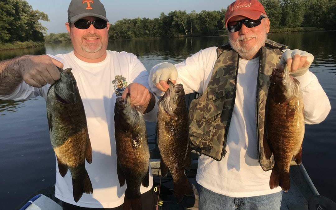 River Smallie Adventures Fishing Report August 13, 2018