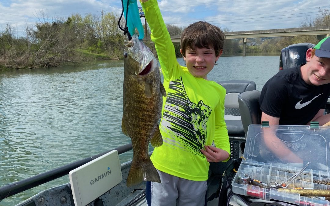 River Smallie Adventures Fishing Report April 8, 2021