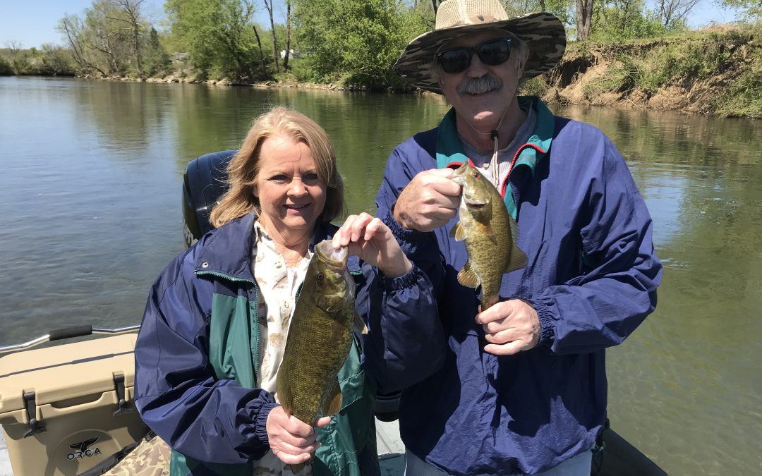 River Smallie Adventures Fishing Report April 20, 2018