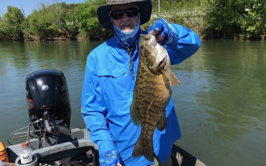 River Smallie Adventures Fishing Report April 27, 2020