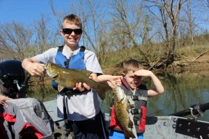 family fun fishing trips in east tn