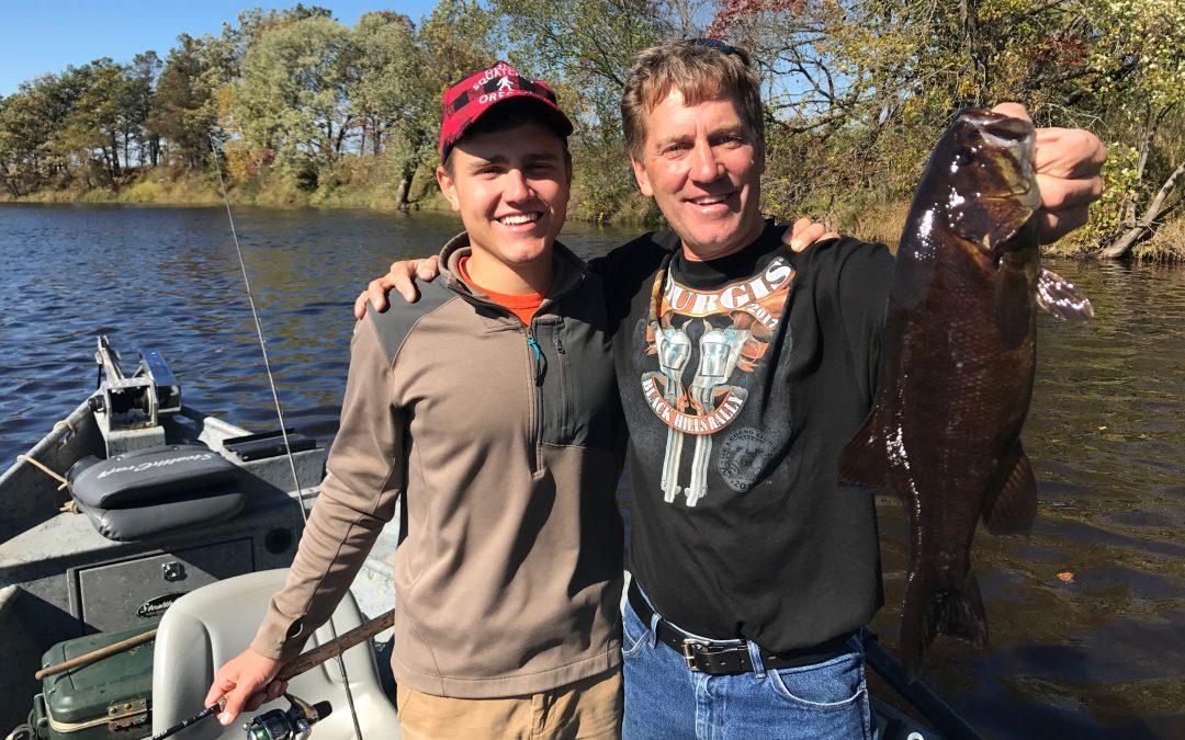 October 8, 2017 River Smallie Adventures Wisconsin Fishing Report