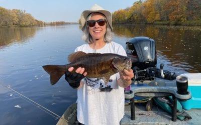 River Smallie Adventures Fishing Report October 9, 2020