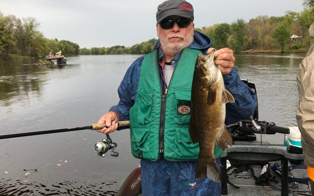 River Smallie Adventures October 1, 2017 Wisconsin Fishing Report